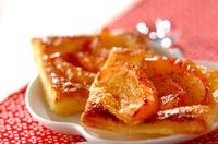 のせるだけのリンゴ煮パイ