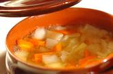 トマトチーズポトフの作り方1