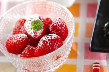 イチゴのキルシュ風味