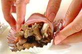 マイタケのベーコン巻きの作り方2