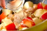 チキンとアップルのコーングラタンの作り方4