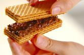 ウエハースのチョコサンドの作り方2