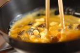 チーズ&プルーンオムレツの作り方2