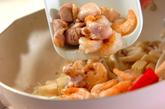 揚げ麺のあんかけの作り方2