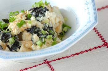 豆腐のゴマ和え