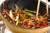 チャプチェ風素麺の作り方2