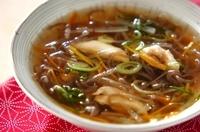 大根と糸コンニャクのスープ