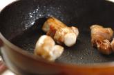 コンニャクのみそ煮の作り方1