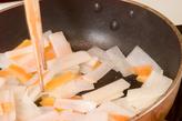 炒めゴマなますの作り方1