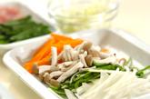 炒め素麺の下準備2