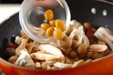 キノコのあんかけレタスのせの作り方1