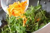 豆苗の炒め物の作り方1