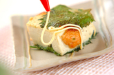 豆腐の明太はさみ焼きの作り方3