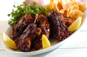 豚スペアリブのバーベキュー味
