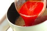 トマトチーズフォンデュの作り方3