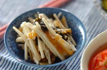 クラゲと長芋の酢の物