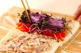 焼きのりロールサラダの作り方2