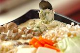 とんこつ豆乳鍋の作り方2