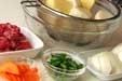 肉ジャガ(しっかり味)の下準備1