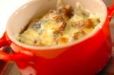 簡単焼き鳥チーズ焼きご飯の作り方2