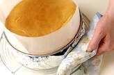 まるごとイチゴのスフレチーズケーキの作り方9