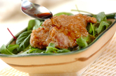 豚ヒレ肉の竜田揚げ丼の作り方3