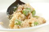 ソラ豆の簡単コーンリゾットの作り方3