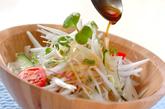 新玉ネギのおかかサラダの作り方1