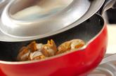 ふっくらホタテの甘辛煮の作り方1