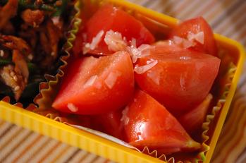 トマトのガリ和え