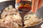 レンコンと豚のきんぴらの作り方2