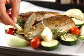 イサキと野菜のオーブン焼きの作り方2