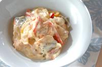鮭のクリームチーズ煮