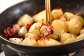 ジャガタコ炒めの作り方2