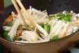 エノキのカレー炒めの作り方1