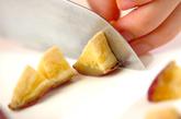 干し芋ご飯の下準備1