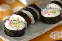 アボカド手巻き寿司