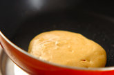 ホットケーキのイチゴ小豆のせの作り方1