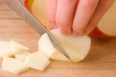焼くだけアップルケーキの作り方1