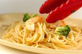 エビとブロッコリーのペペロンチーノの作り方3