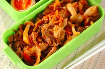 豚肉と野菜のキムチ炒め