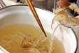 夏のかきたま汁の作り方1
