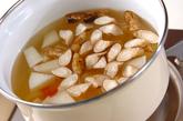 豆腐と根菜の麦みそ汁の作り方1