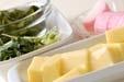 卵豆腐の吸い物の下準備1