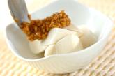 大和芋の納豆ダレの作り方1
