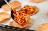 キノコのミニピザの作り方2