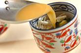 エノキとワカメの茶碗蒸しの作り方2