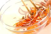 ニンジンとシメジのサラダの作り方3