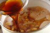 里芋とタコの煮物の作り方1