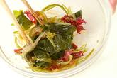 海藻サラダの作り方2